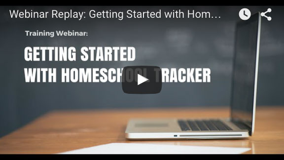 Getting Started with Homeschool Tracker
