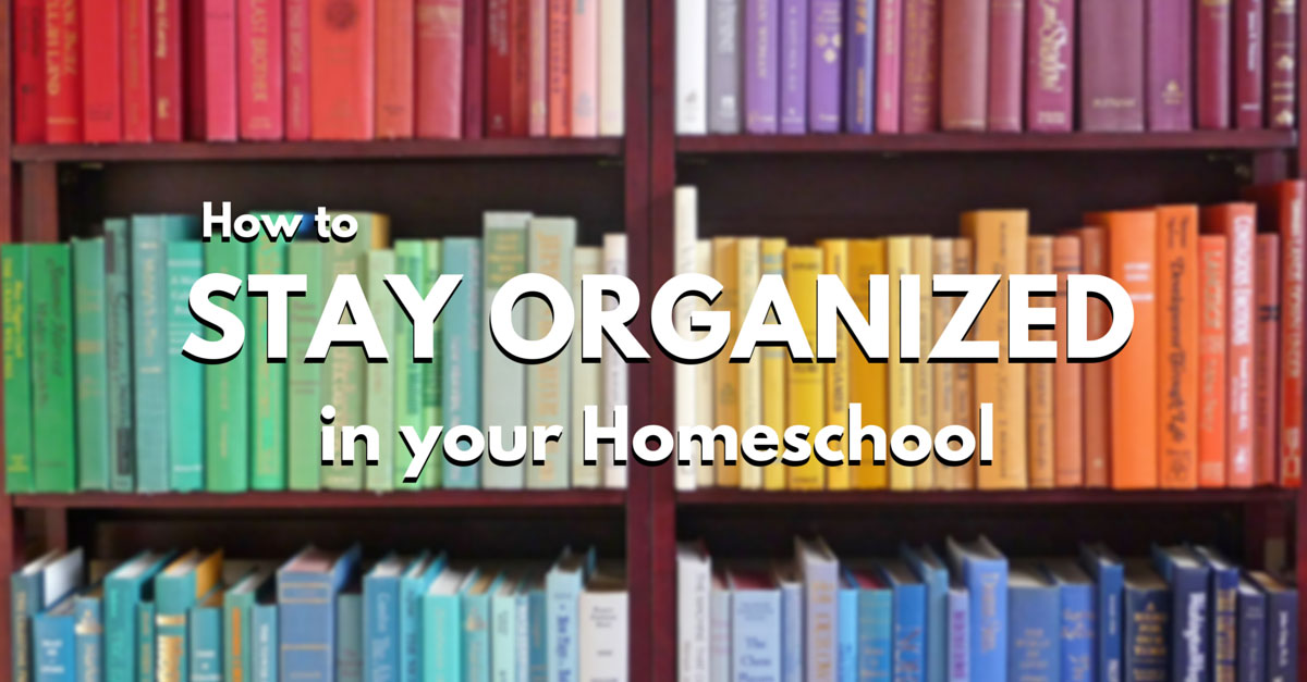 How to stay organized in your homeschool homeschool tracker for How to stay organized at home